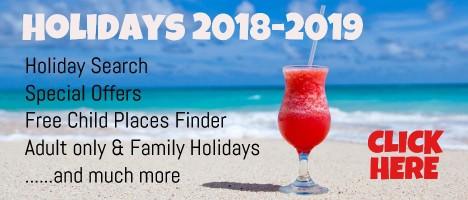 Tui Holidays 2018 & 2019