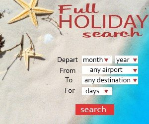 Tui Holidays & Cruise search