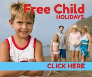 Free Child Places Holidays